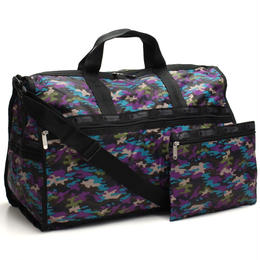 レスポートサック (Le Sport sac) Large Weekender ボストンバッグ7185 D467ブラック、マルチカラー