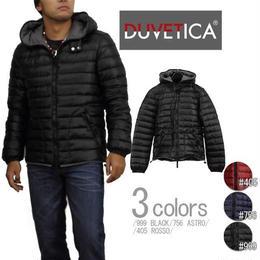 デュベティカ (DUVETICA) メンズジャケットLAIO 32 U407000 1091 999BLACK ブラック サイズ(#46)