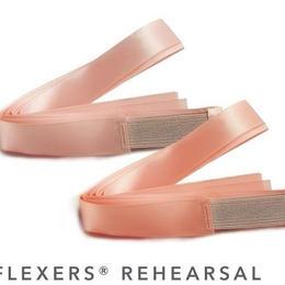 Bunheads ゴム付ポアントリボン Flexers Rehearsal