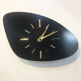 [Clock]Vintage French Formica wall clock