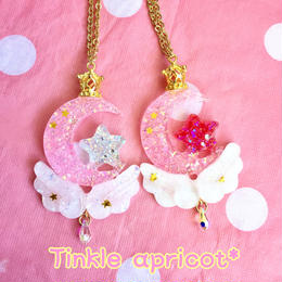 ☆moon dropネックレス