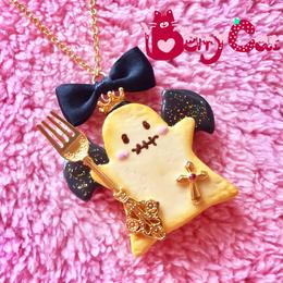 おばけ姫クッキーネックレス