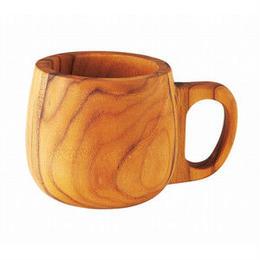 チーク材マグカップ