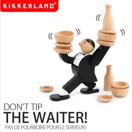 KIKKERLAND/キッカーランド】スタッキングゲーム Don't tip THE WAITER!