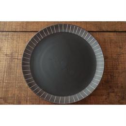 美濃焼 チョコ削り中皿