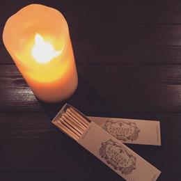 亀山蝋燭 キャンドル用マッチ