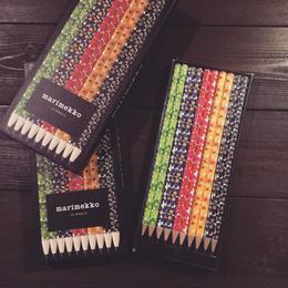 marimekko ウニッコ柄の鉛筆