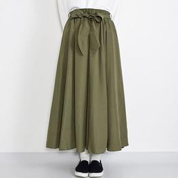 [0997sk]ベルト付サーキュラースカート