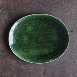 ババグーリ babaghuri 織部の陶器 大皿