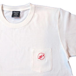 SHW POCKET T-SHIRT(WHITE)
