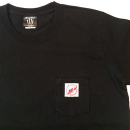 SHW POCKET T-SHIRT(BLACK)