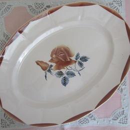 ディゴワン・サルグミンヌ窯楕円形平皿(大)