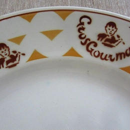 リュネヴィルの食いしん坊君モチーフ平皿(大)