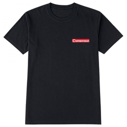 camenreon left LOGO T-shirt lady's