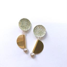 crystal bumpy pierce
