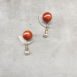 fan clear darkorange pierce