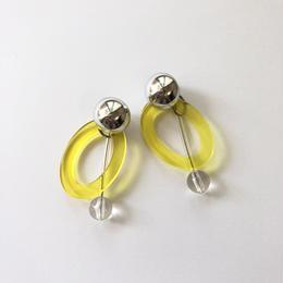 yellow hoop swing pierce