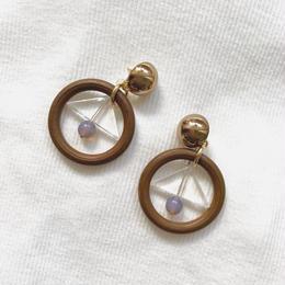 wood hoop pierce