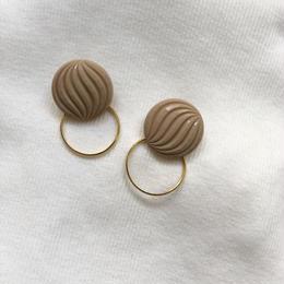wave sculpture hoop pierce