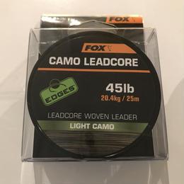 FOX  カモ レッドコア(ライトカモ) 45lb  25m
