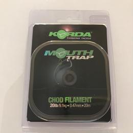 KORDA  マウストラップ チョドフィラメント 20lb