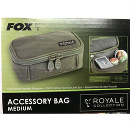 FOX ロイヤル アクセサリーバッグ(ミディアム)