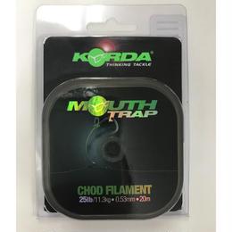 KORDA  マウストラップ チョドフィラメント 25lb