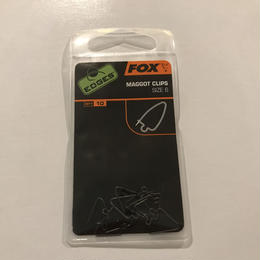 FOX  マゴットクリップ サイズ6