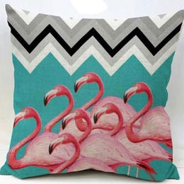 flamingoシリーズ1クッションカバー
