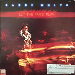 LET THE MUSIC PLAY  /  BARRY WHITE (LP) ★見本盤★