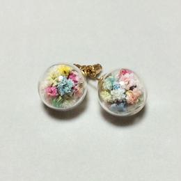 お花×ガラスドーム inパステル