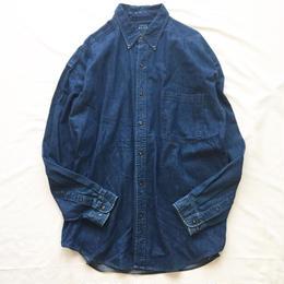 1990's~ ボタンダウン デニムシャツ / 古着 ビンテージ