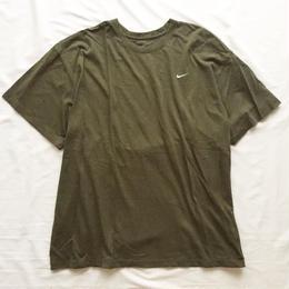ビッグサイズ XXXL  NIKE ナイキ カーキ スウォッシュ 半袖Tシャツ / 古着 ビンテージ tee
