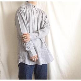 ユニセックス 1980's~ USA製 ボタンダウン ギンガムチェックシャツ/古着 ビンテージ