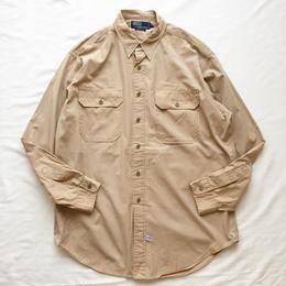 Polo Ralph Lauren ポロラルフローレン 長袖 ワークシャツ / 古着 ビンテージ