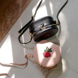 バラ刺繍 ショルダーバック