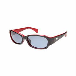 EVERLASTサングラス ブラック×レッド EL-1302