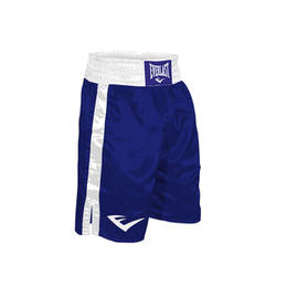 "BOXING TRUNKS, 24"" LENGTH(BLUE×WHITE)"
