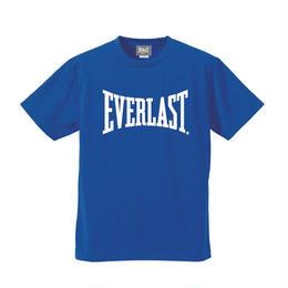 ビッグロゴドライTシャツ (BLUE×WHITE)