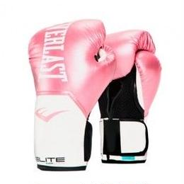 WOMEN'S ELITE PRO STYLE TRAINING GLOVES(PINK/WHITE)