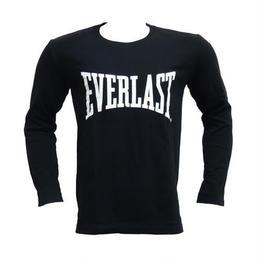 ビッグロゴロングTシャツ (BLACK×WHITE)
