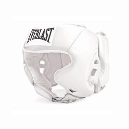 ヘッドギア Amateur Head Gear with cheek protection(WHITE)