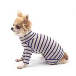 Daily Stripe All-in-one   Beige/blue