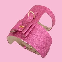 Bow Wow Dog Harness Pink