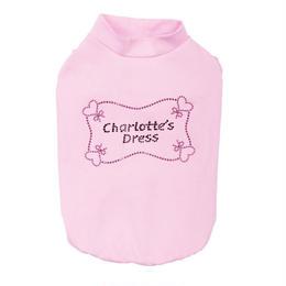 T-SHIRT''CHARLOTTE''  ROSE