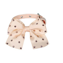 "COLLAR  ""JULIE""   APRICOT PINK"