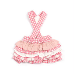 Vanilla Check Dress_Pink