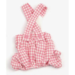 Vanilla Check Pants Pink