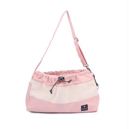 Dog Messenger Bag Light Pink
