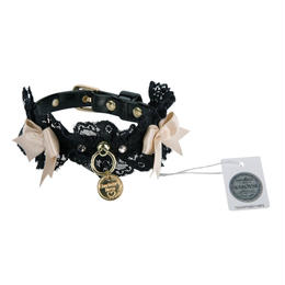 Collar 1.2cm SHARON black/beige